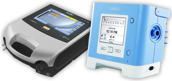 portable medical ventilator repair